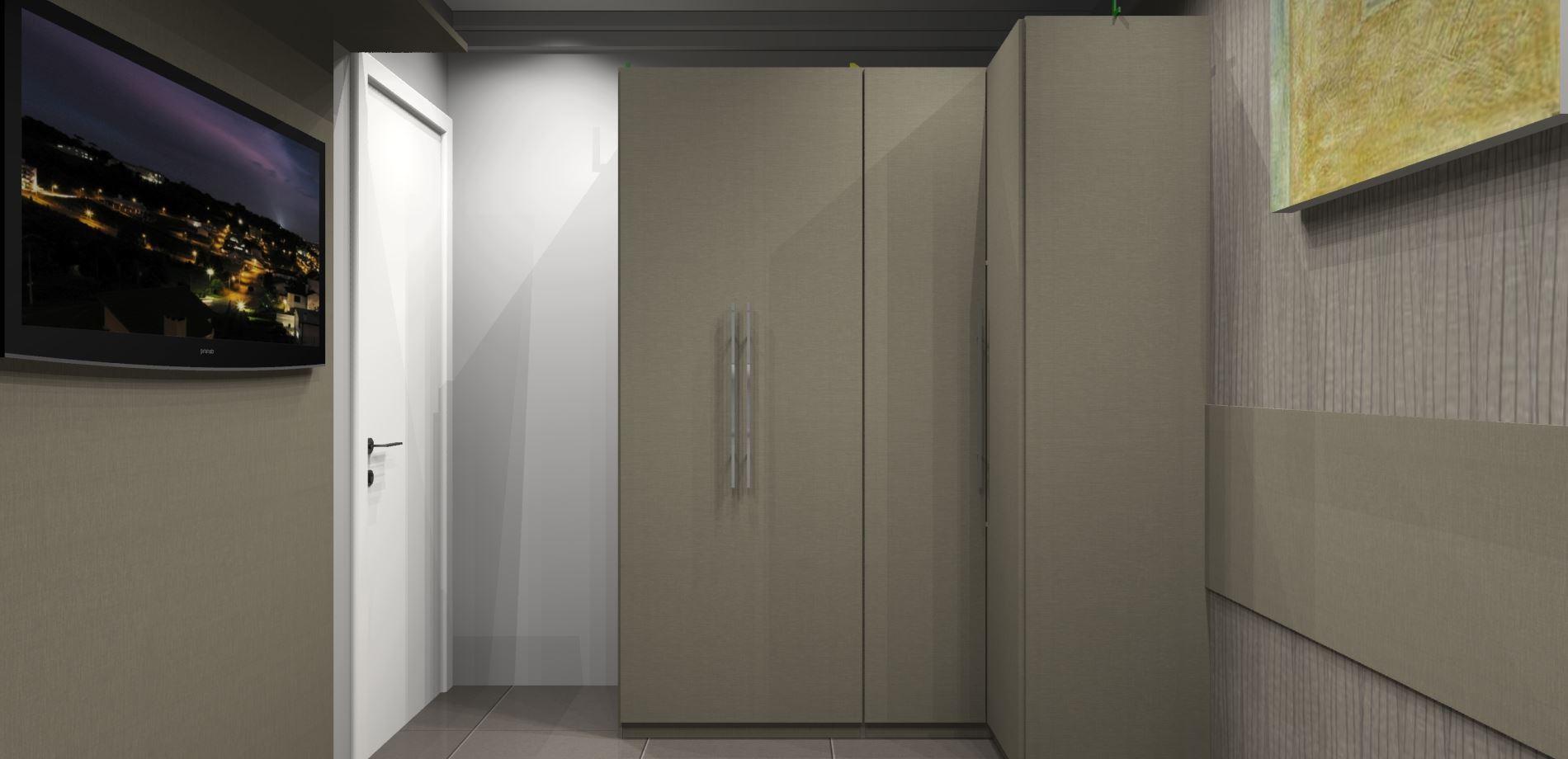 Dormitório Casal Armários Fechados