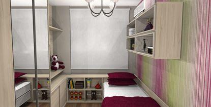 Dormitório Solteiro Planejado