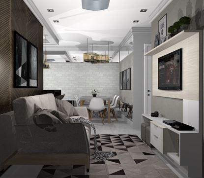 Imagem de Home Theater Econômico Vittace Uvaranas (2 quartos - Planta C)