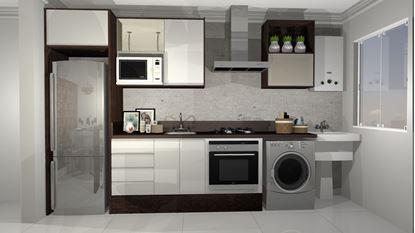 Imagem de Cozinha Planejada Premium  Vittace Uvaranas (2 quartos - Planta C)