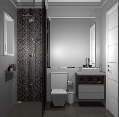 Imagem de Banheiro Social Premium Vittace Uvaranas (3 quartos - Planta C)