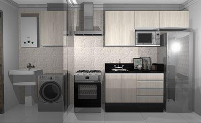 Imagem de Apartamento Completo Econômico Vittace Uvaranas (3 quartos - Planta C)