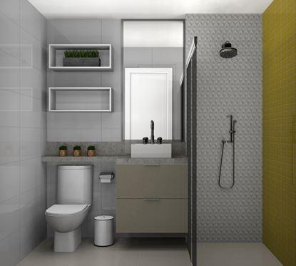 Banheiro Social Planejado