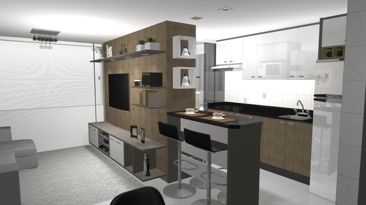 cozinha e home