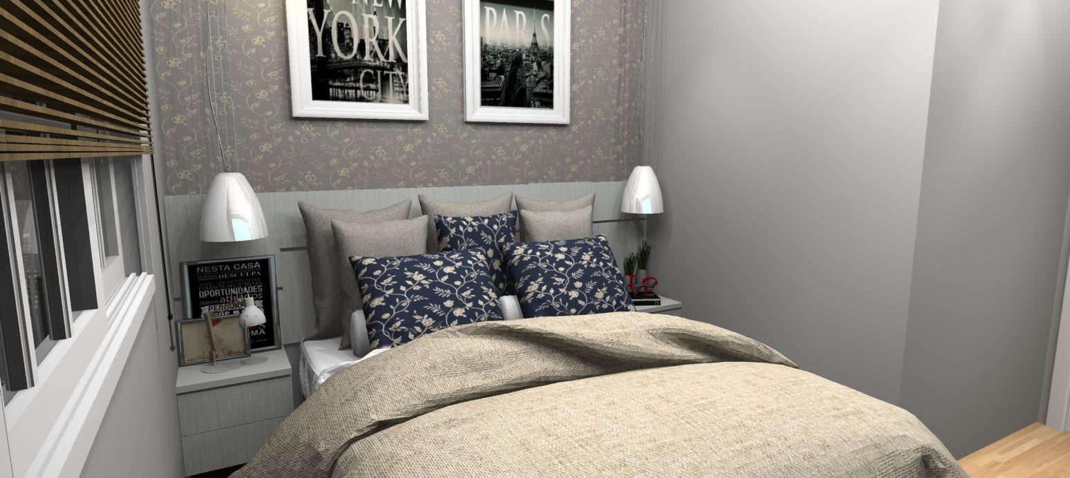 Imagem de Dormitório de Casal Planejado