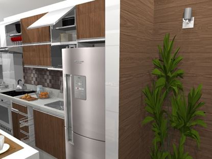 Cozinha Planejada Espaço Pequeno