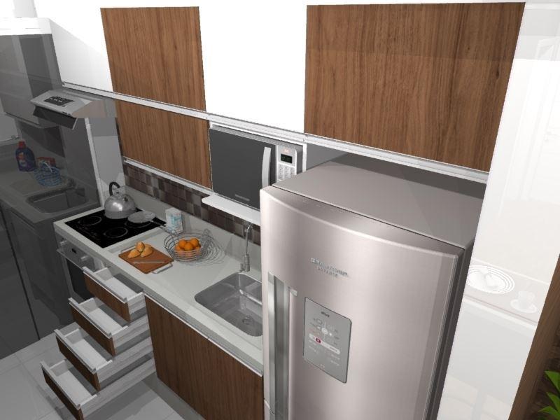 Cozinha Planejada Para Apartamento Muito Pequeno