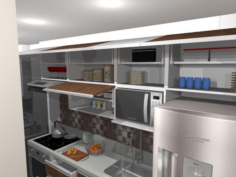 Cozinha Planejada Pequena Mdf