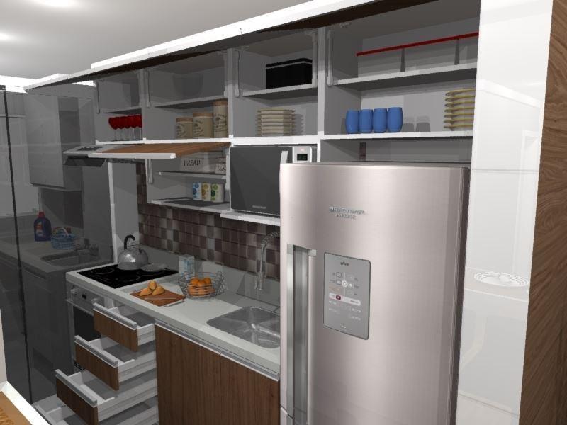 Cozinha Planejada Para Ambiente Pequeno
