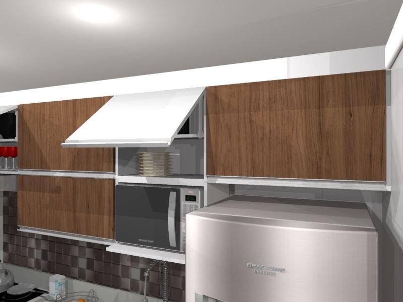 Cozinha Planejada Para Apartamento Bem Pequeno