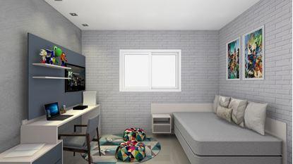 Imagem de Dormitório Infantil Planejado