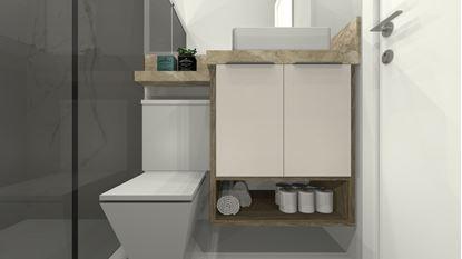 Imagem de Gabinete de Banheiro