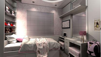 Imagem de Dormitório Infantil Feminino