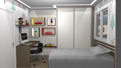 Dormitório com nichos