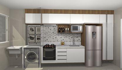 Paneleiro e caixa para geladeira