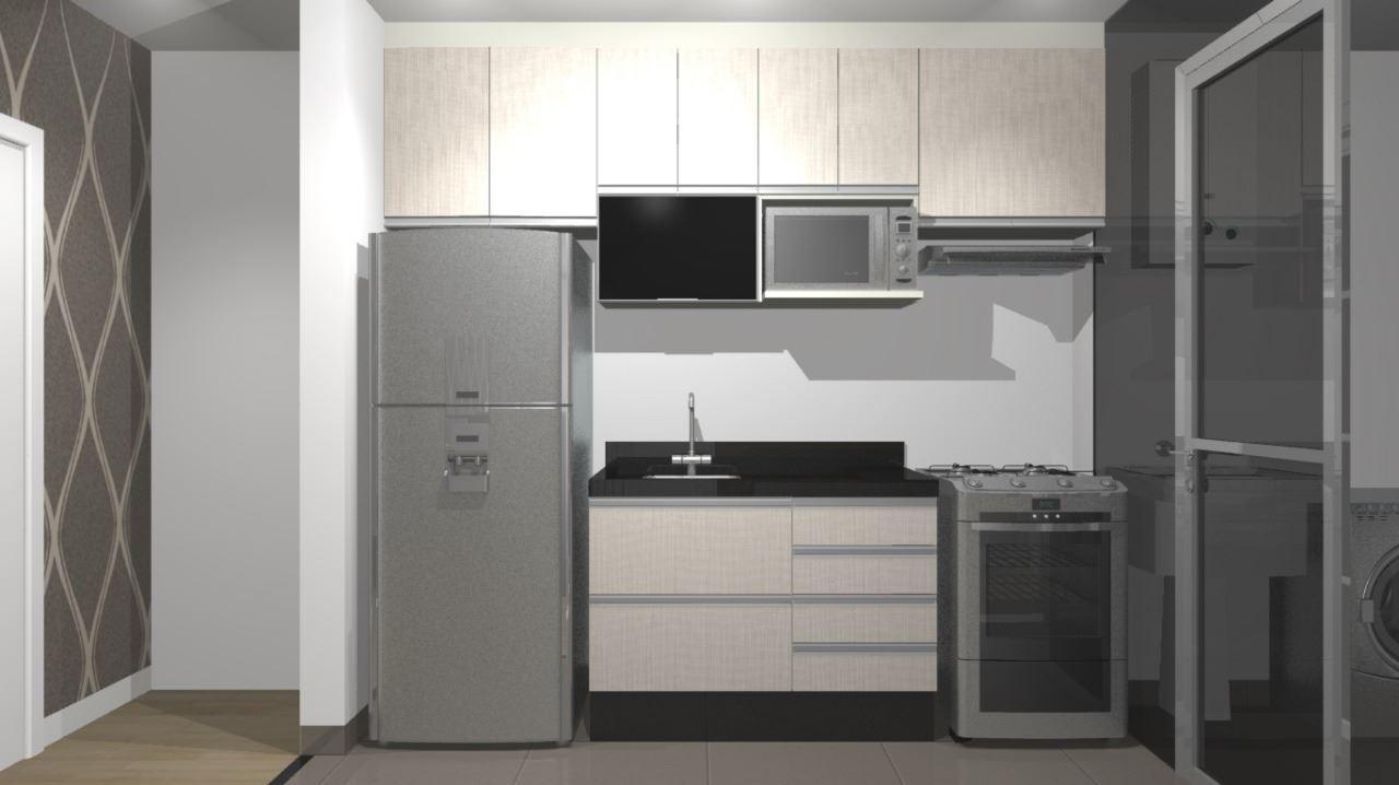 Imagem de Cozinha Planejada Pequena