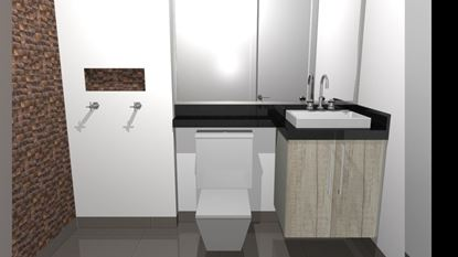 Imagem de Armário de Banheiro