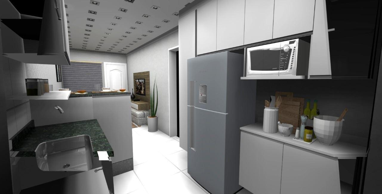 Cozinha Americana Moderna