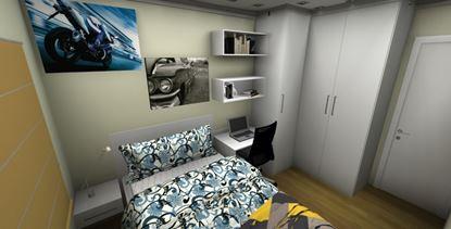 Dormitório Pequeno Solteiro