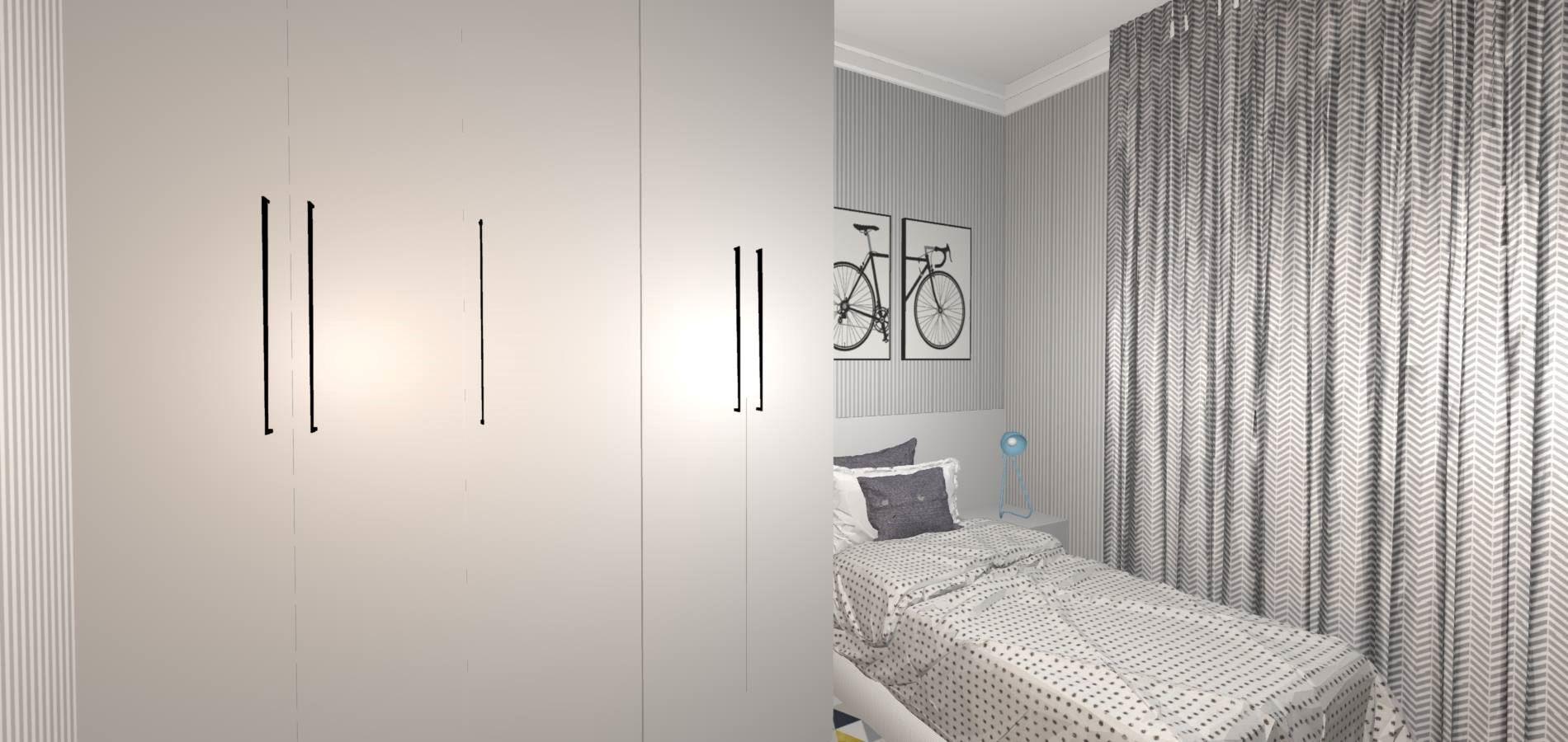 Dormitório Solteiro Completo