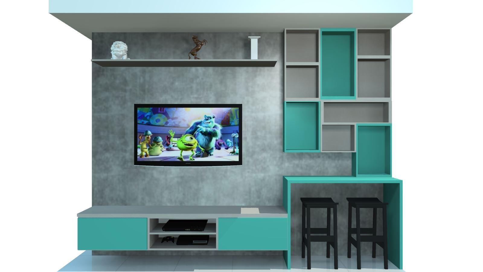 Sala Planejada Apartamento