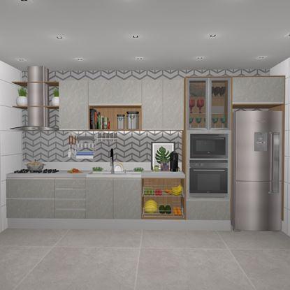 Cozinha Planejada Grande Eros
