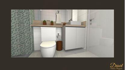 Gabinete Planejado para Banheiro