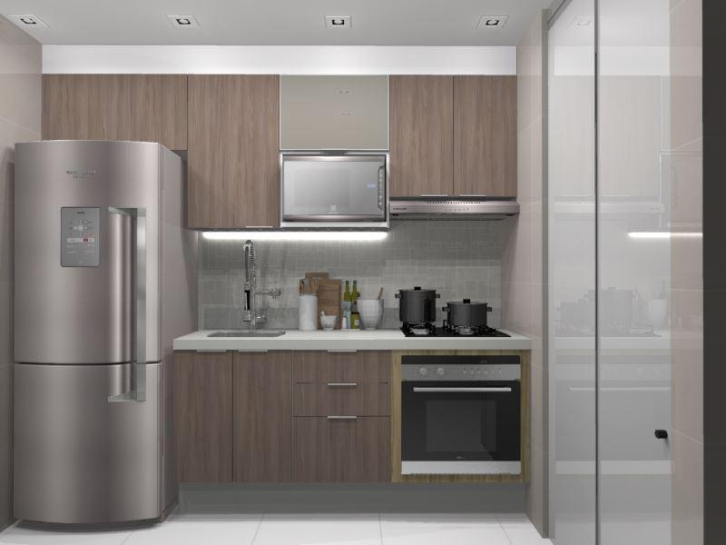 Cozinha Planejada para apartamento( Urban +1 vidro)