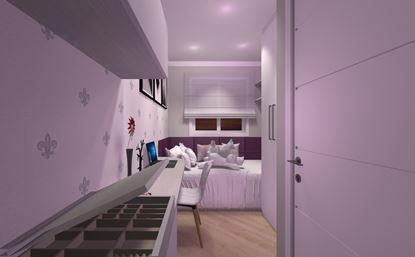 Dormitório de Solteiro Feminino