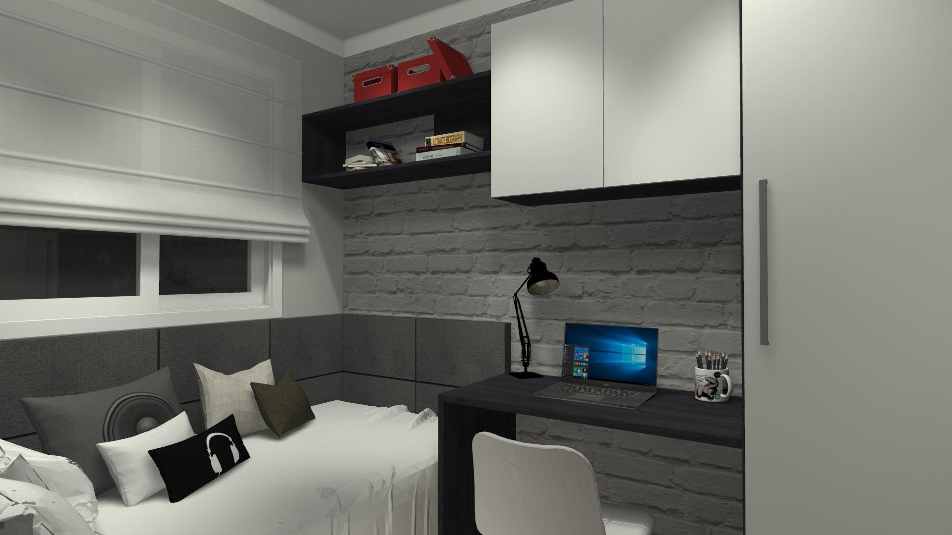 Dormitório de Solteiro Masculino