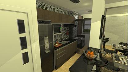Cozinha de apartamento completa!